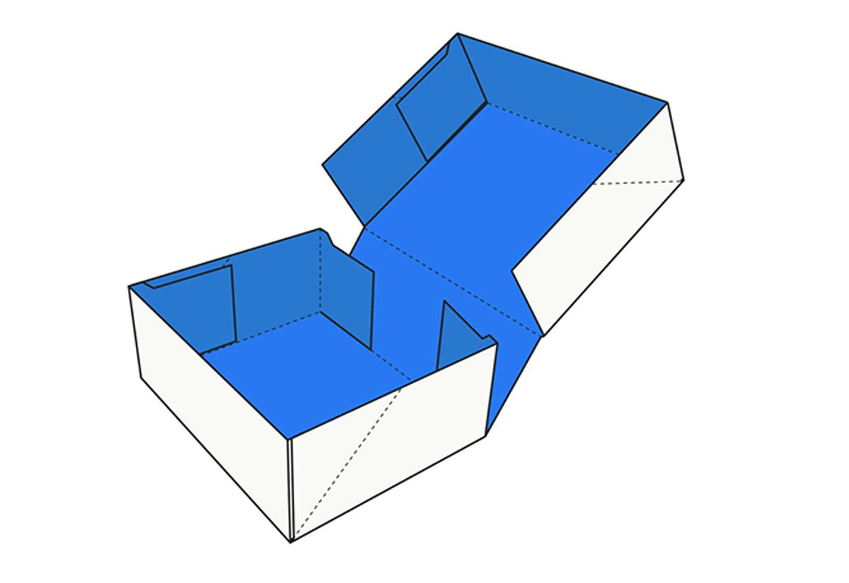 4 Corner Tray Lid