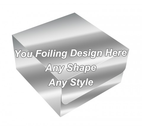 Silver Foiling - Thread Packaging Boxes
