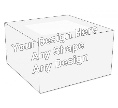 Window - Cake Bakery Packaging Box