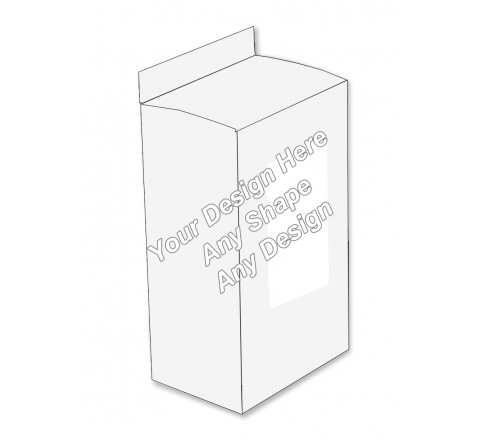 Window - Lotion Packaging Boxes